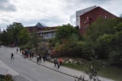 Výhled v kampusu