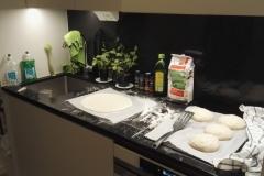 Švýcarská příprava těsta na pizzu