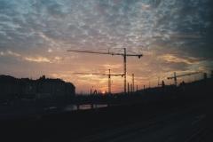 Ranní jízda do školy - Slussen/Gamla Stan
